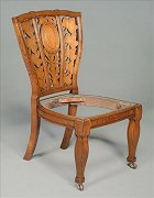 An Important chair by A H Macmurdo