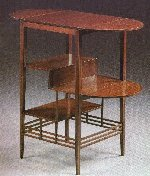 'Prototype side table designed by E W Godwin. Circa 1872.